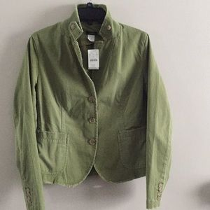 J CREW Army Green Jacket L